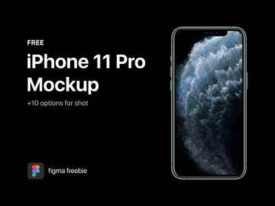 iPhone 11 Pro Freebie Mockup For Figma