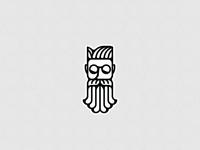 Bearded Man Logo