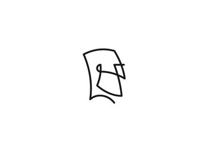 Bearded Man Head