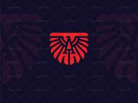 Eagle Letter A logo
