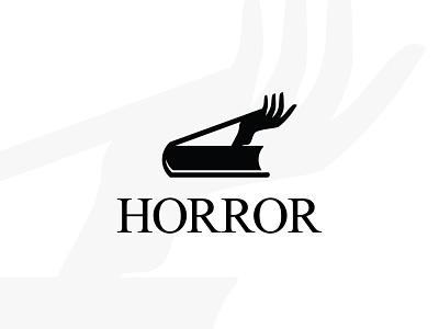 Horror Book logo buy logo sale logos sale logo for sale book hand logos for sale buy sales sale logos logo cinema horror movie film