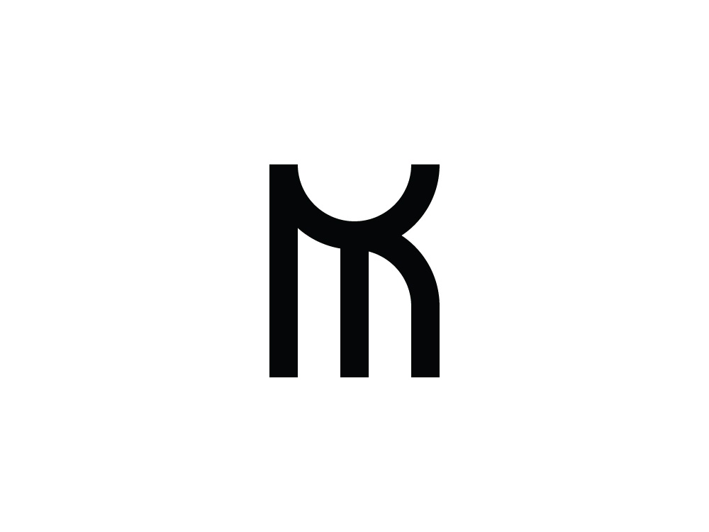 Mk Km Monogram By Logohoko On Dribbble