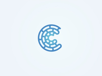 Abstract C logo
