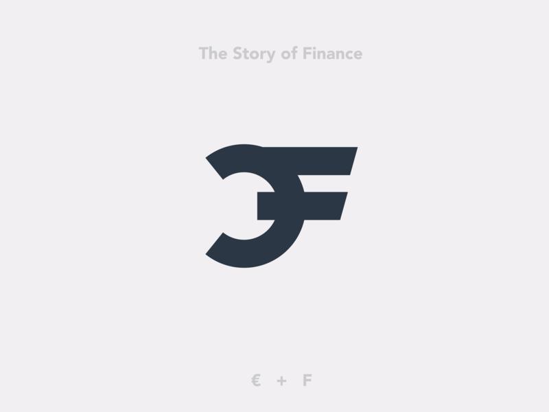 Logo for the story of finance finance branding logo