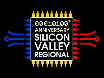 Silicon Valley Robotics Regional Logo identity design graphic logo silicon-valley robotics