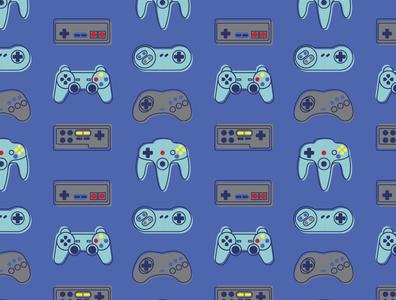 Videogames Pattern videogames surface surface pattern design vector colorful patterns textile color pattern illustration