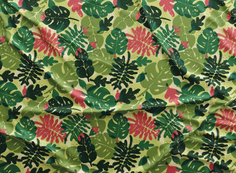 Leaves Pattern for download flower surface pattern design vector colorful patterns textile color pattern illustration