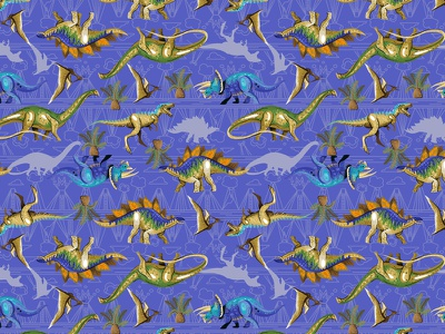 Dinosaurs pattern dinosaurs dino fun design surface pattern vector patterns colorful textile color pattern illustration