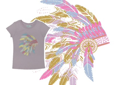 Illustration for T-Shirt EPK Collection Los Angeles S.S. 2019 funny design vector colorful patterns textile color pattern illustration