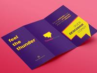 Panfleto ThunderSocial