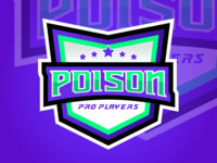 Brasão POISON Pro Players (eSport)