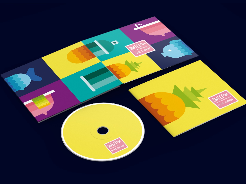 CD/DVD Album Cover Design dvd artwork dvd-cover cd cover design cd design cd cover dvd cover cd template cd art dvd cd illustration logo brand vector design branding