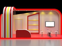 3D Stall Design for sell