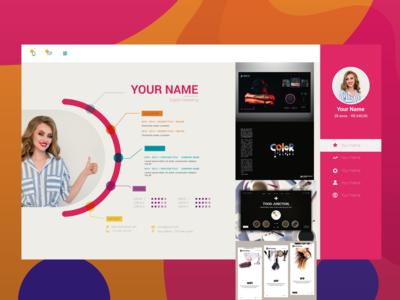 Graphic Designer Web temp