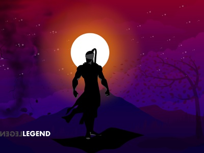 free Legend Illustration Vector branding illustration concept free backgrounds vector illustrations free