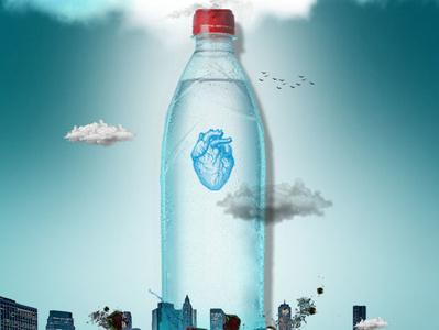 Live Water beanding designer designer ad designer add