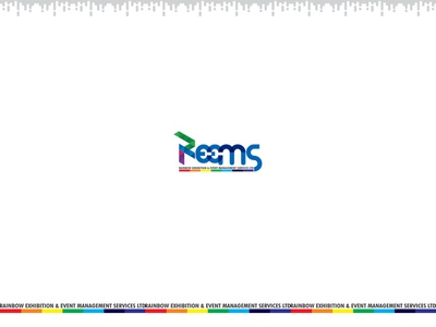Reems designer design icon logo vector branding illustration concept logodesign exhibition design event events