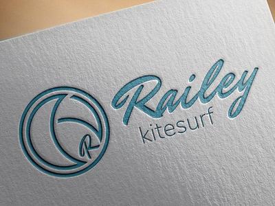 LOGO - RAILEY - KITSURF MONITORS logo design graphisme design logo
