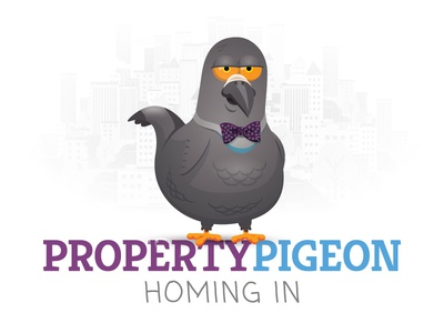 Property Pigeon Branding illustration