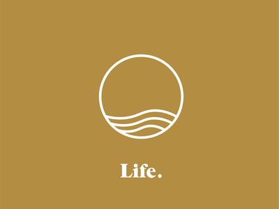 """Life"" Modern and Minimal Logo concept"