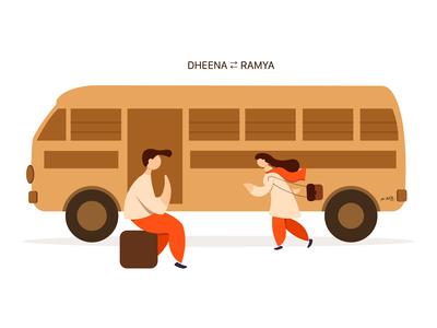 Love of Dheena Ramya