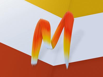 Paint font design type typeface brush paint font design