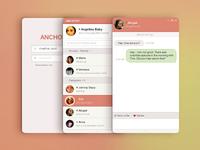 Messenger Ronunding Pink Ver.