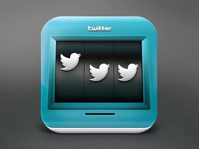 Twitter slot machine