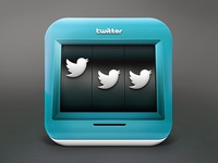 Twitter slot machine