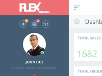 Flex Admin Design Concept