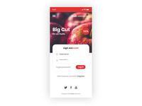 Fruit restaurant app