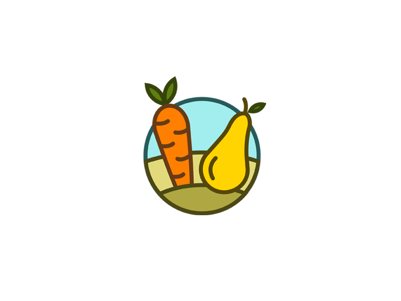 Garden vector illustration creative branding logo design