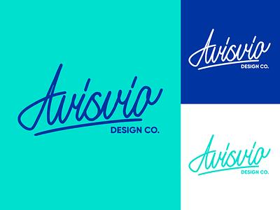 Avisvio - Lettering Logo Sketch for Design Studio typography typo type streetwear sketches script packaging mark logotype logo lettering identity hand lettering free font fashion design clothing calligraphy branding