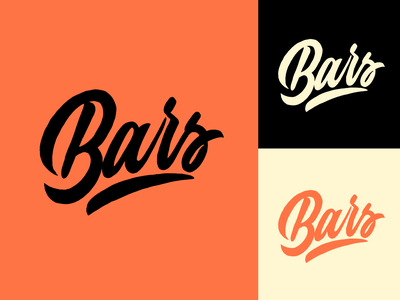 Bars - Logo Sketch for Clothing Brand from London typography typo type streetwear sketches script packaging mark logotype logo lettering identity hand lettering free font fashion design clothing calligraphy branding