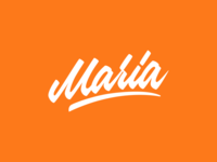 Maria - Logo for Photographer