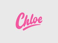 Chloe - Personal Logo