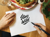 Stay Wild - Logo for Clothing Brand