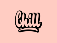 Chill - Print for Clothing Brand
