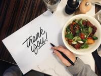 Thank You - Sketch