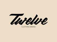 Twelve - Logo for Clothing Brand