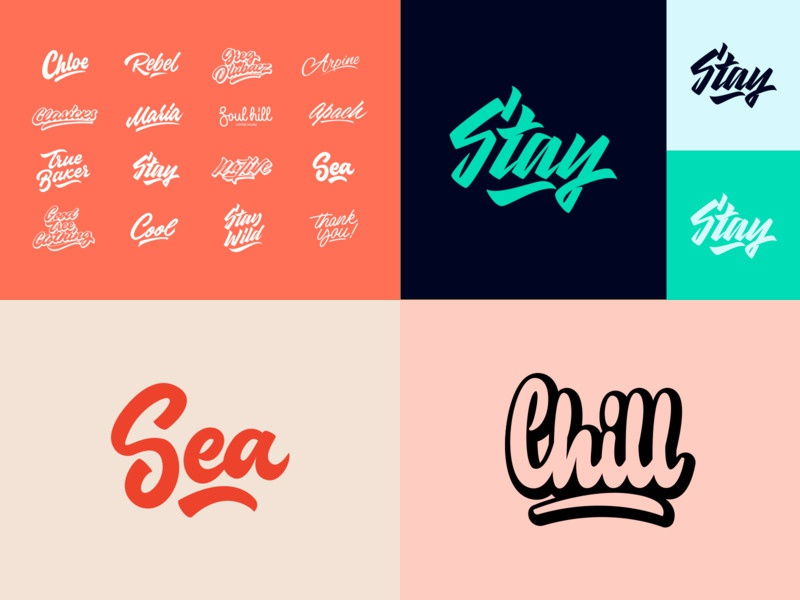 2018 - Top Shots top 4 packaging mark clothing streetwear design typo identity branding sketch type script font typography logotype logo lettering hand lettering free calligraphy