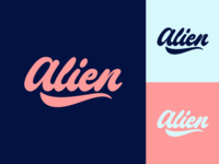 Alien - Logo for Photographer