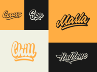 Some Lettering Logos