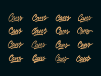 Cans - Logo Sketches for Graffiti Shop