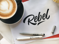 Rebel - Logo Sketch