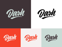 Dash - Lettering for Dash Creative Strategy