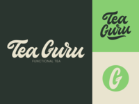 Tea Guru - Lettering Logo Project