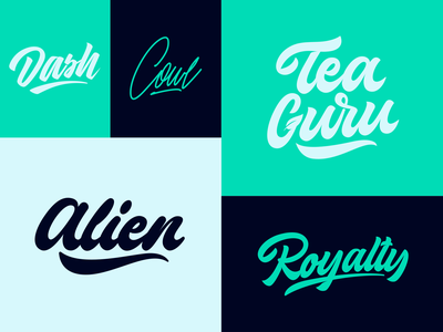 Lettering Logos Collection fashion packaging mark clothing streetwear design typo identity branding sketches type script free font typography logotype logo lettering hand lettering calligraphy