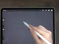 Sobolev - Calligraphy Logo Process