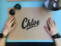 Chloe - Personal Logo Sketch